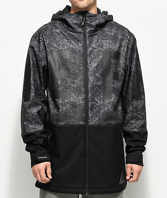 Neff Daily Acid Black 10K Softshell Jacket