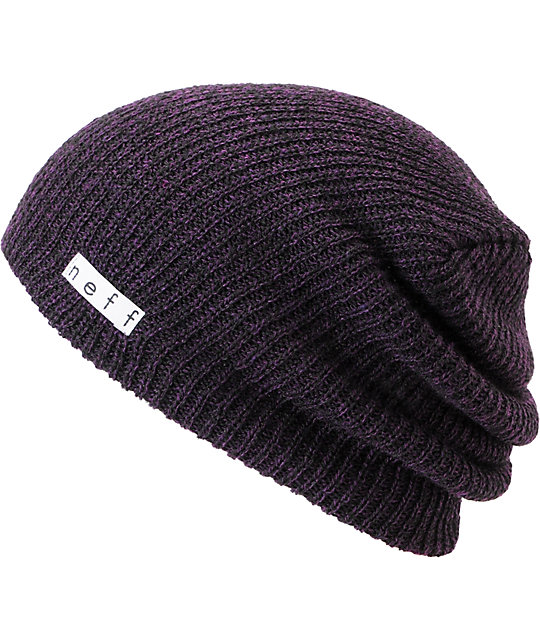 Neff Beanies. Neff beanies in every color currently available at Zumiez. Get Neff beanies in the following styles: Daily, Folded, Grandma, Granner, Goldess, Eleysee, and Nolita. Buy 1 get 1 50% off all Neff beanies for a limited time.