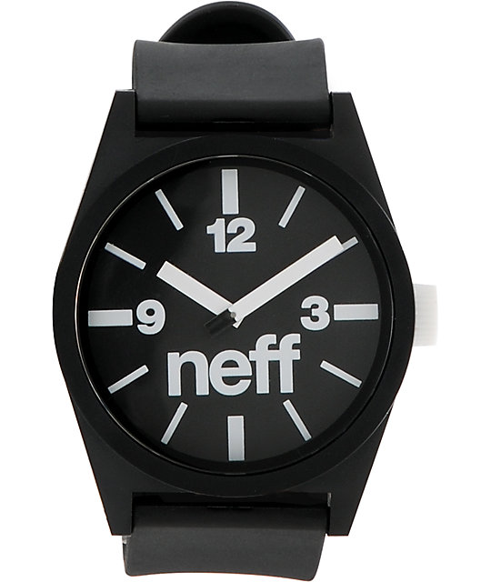 Neff Daily Black Analog Watch