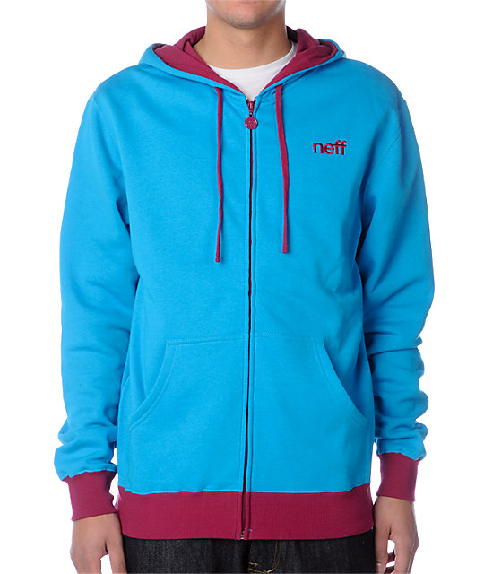 Neff Daily Blue Hoodie