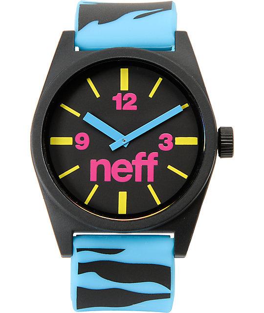 Neff Daily Blue Tiger Analog Watch