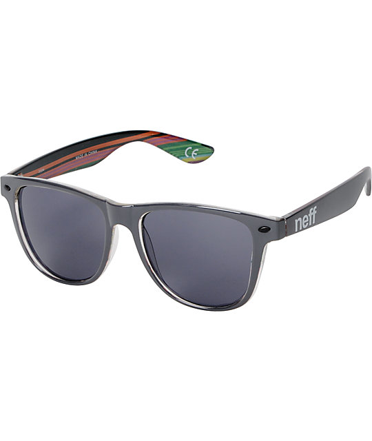 Neff Daily Charcoal & Native Print Sunglasses