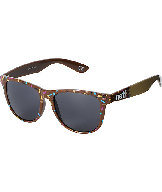 Neff Daily Chocolate Donut Sunglasses