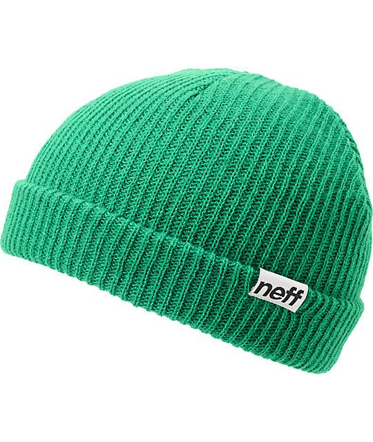 Neff Daily Cuff Green Beanie
