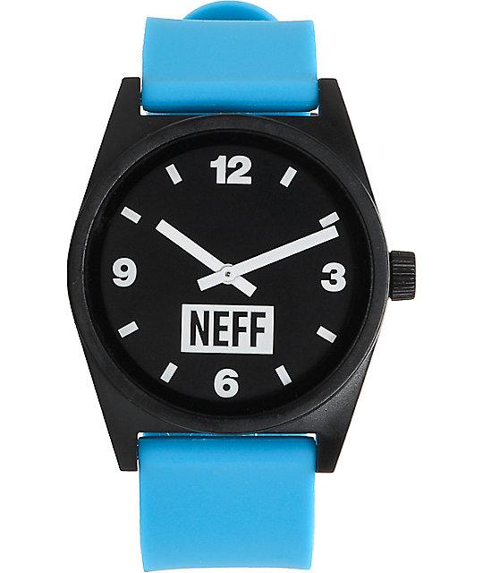 Neff Daily Cyan & Black Watch