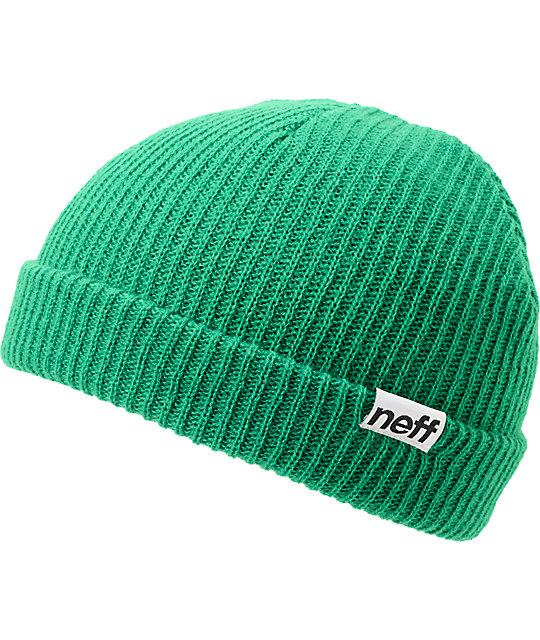 Neff Daily Fold Green Beanie