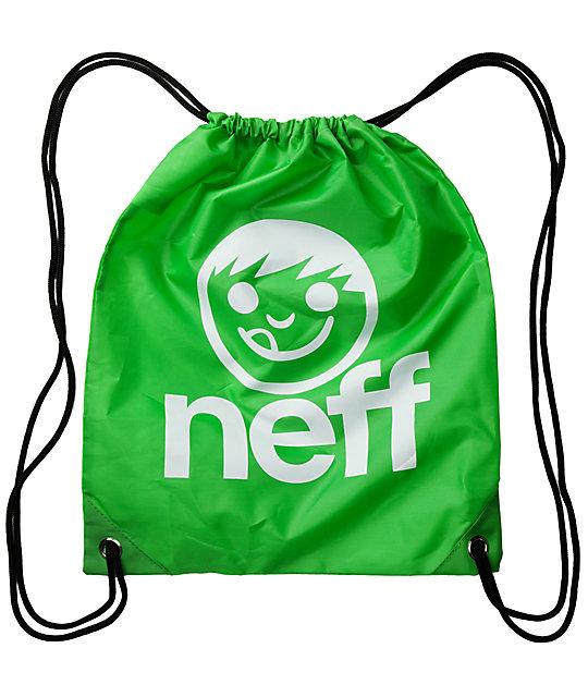 Neff Daily Green Drawstring Bag