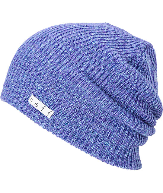 Neff Daily Heather Blue Beanie