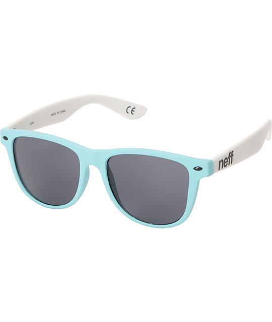Neff Daily Ice & White Sunglasses