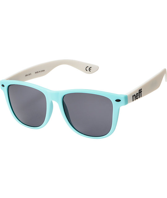 Neff Daily Ice & White Sunglasses