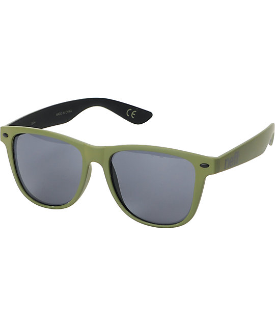 Neff Daily Military Green Sunglasses