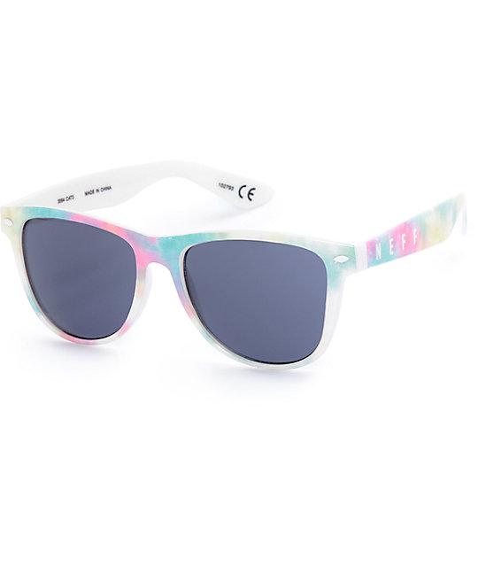 Neff Daily Pastel Tie Dye Sunglasses