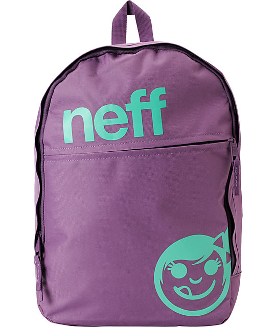 Neff Daily Purple & Teal Backpack