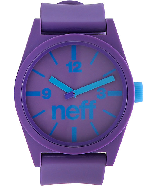 Neff Daily Purple Analog Watch
