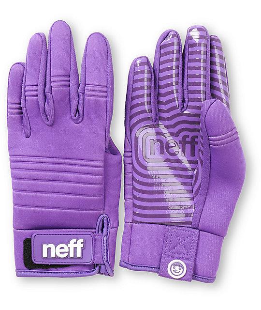 Neff Daily Purple Pipe Snowboard Gloves