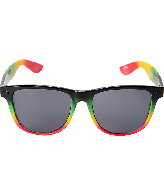 Neff Daily Rasta Spray Sunglasses