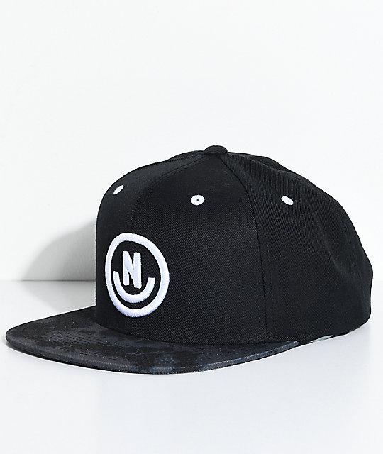 Neff Daily Smile Black Wash Snapback Hat