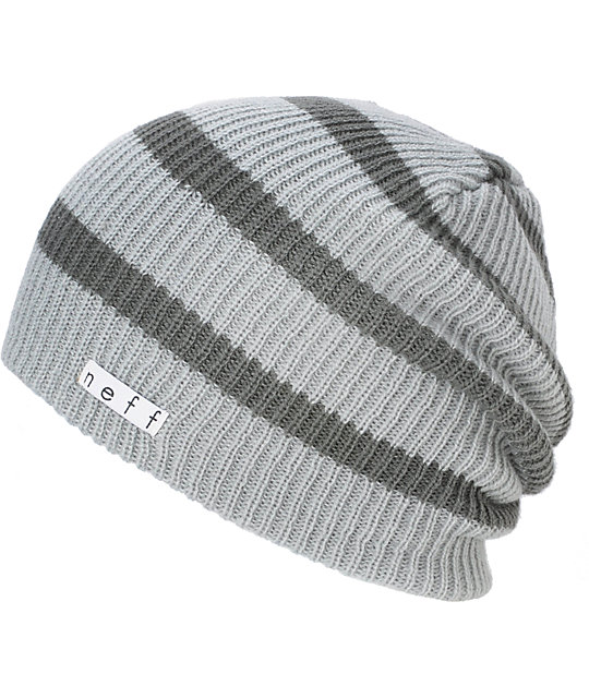 Neff Daily Striped Grey Beanie