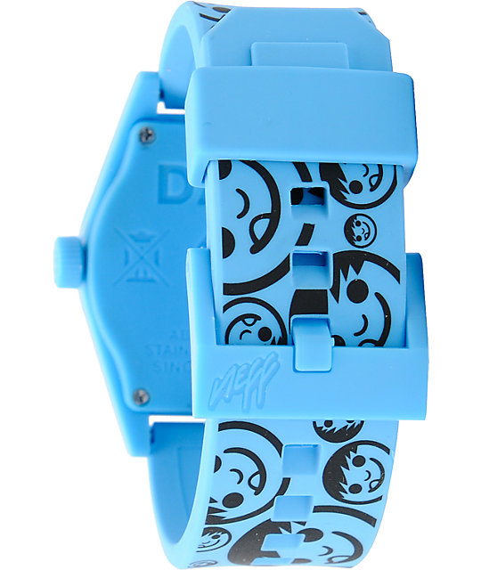 Neff Daily Sucker Blue & Black Analog Watch