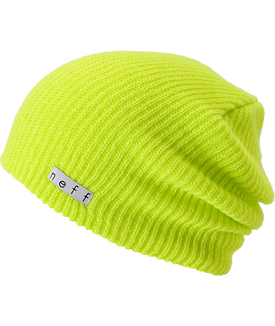 Neff Daily Tennis Ball Yellow Beanie