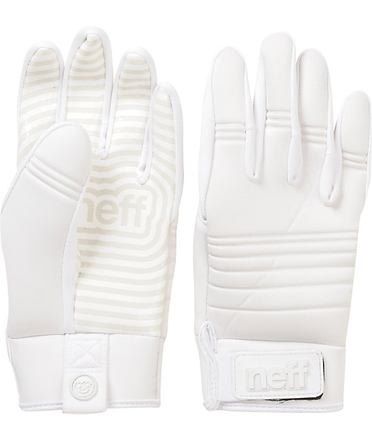 Neff Daily White Pipe Snowboard Gloves