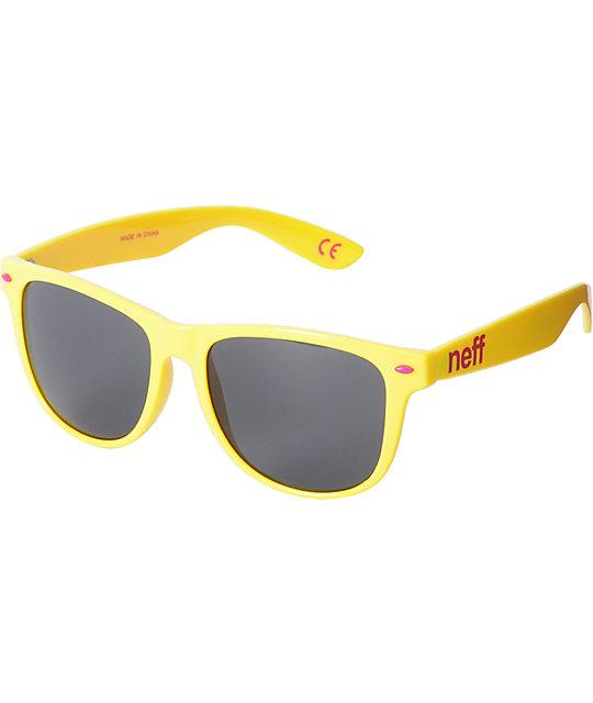 Neff Daily Yellow Sunglasses