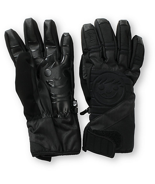 Neff Digger Black Snowboard Gloves