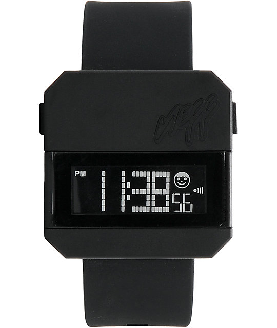 Neff Digi Black Digital Watch