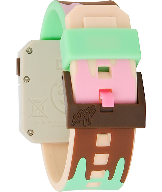 Neff Digi Ice Cream Digital Watch