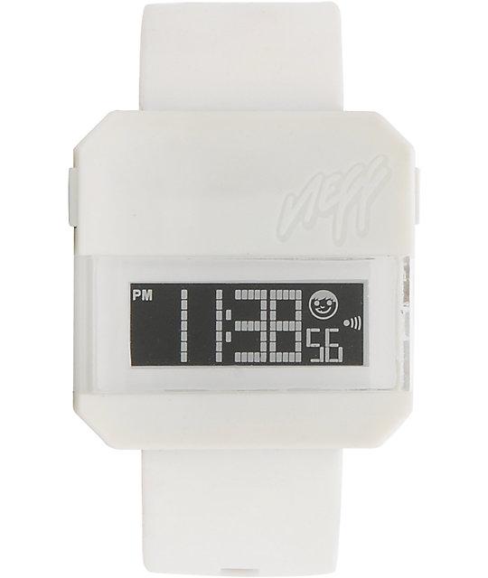 Neff Digi White Digital Watch