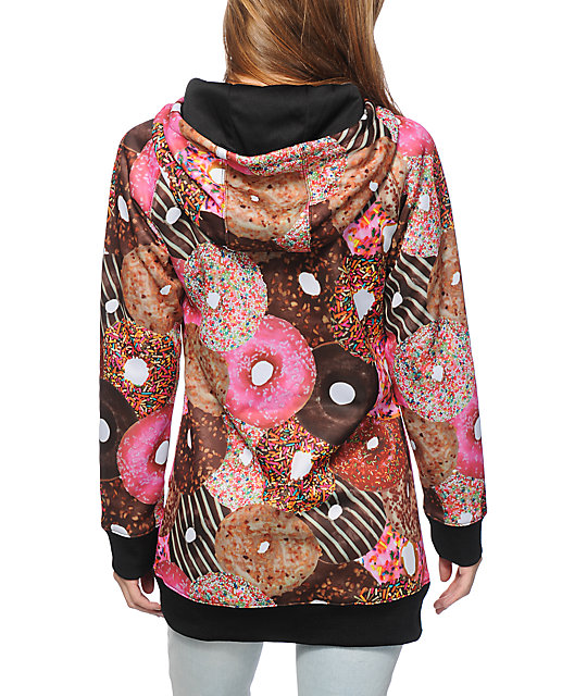 Neff Donut Shred Tech Fleece Jacket