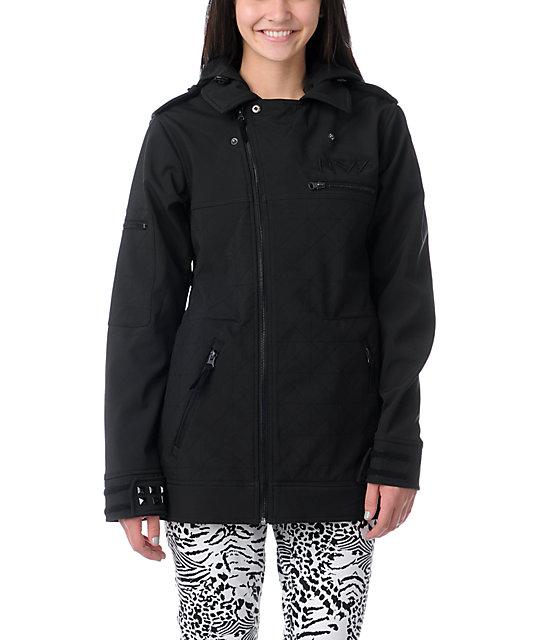 Neff Dre Black 10K Softshell Snowboard Jacket