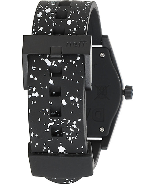 Neff Duo Black Speckle Watch