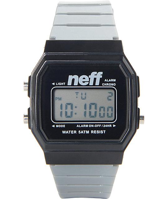 Neff Flava Grey Digital Watch