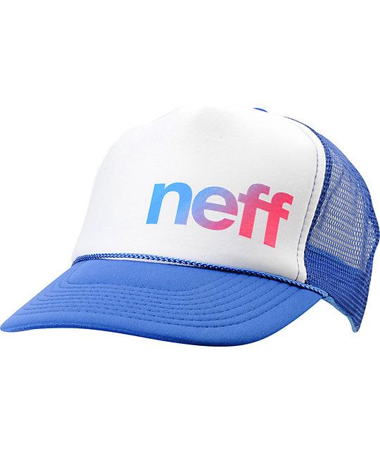Neff Fusion Blue Trucker Hat