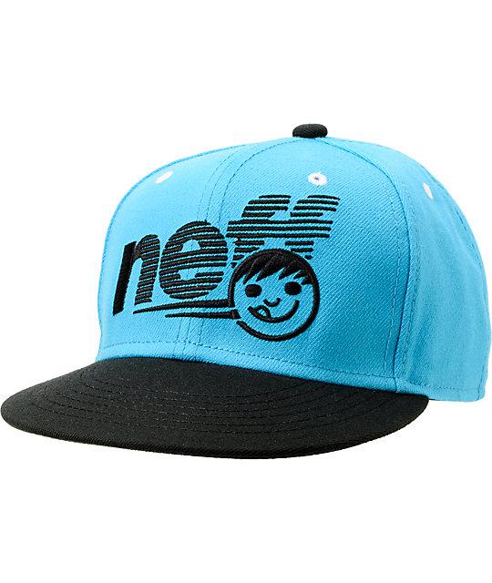 Neff Grade Cyan & Black Snapback Hat