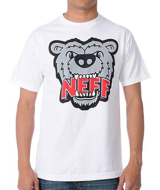 Neff Growly White T-Shirt