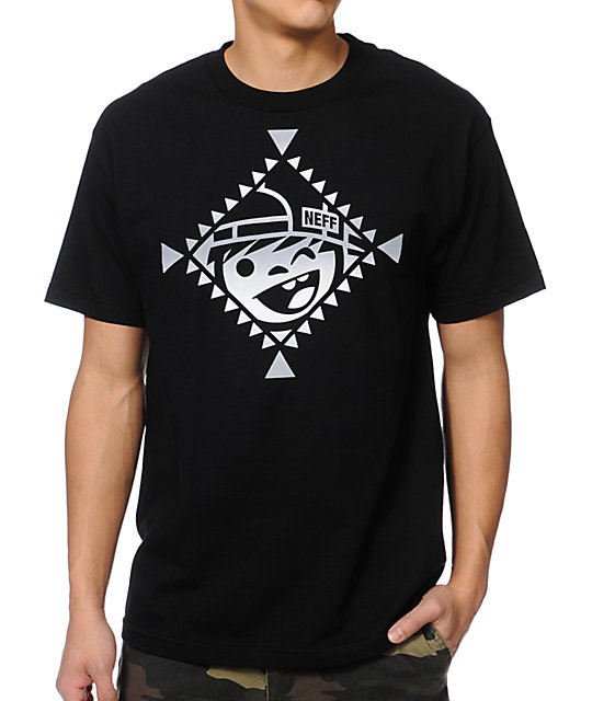 Neff Indienni Black T-Shirt