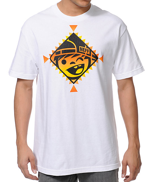 Neff Indienni White T-Shirt