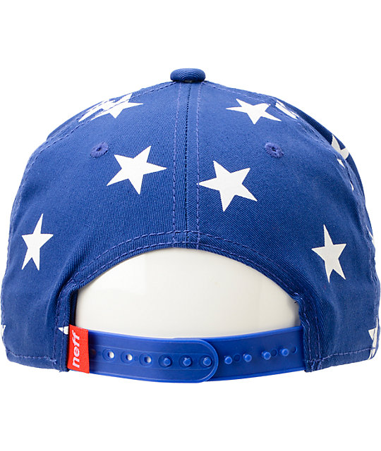 Neff Jazz Red, White, & Blue Snapback Hat