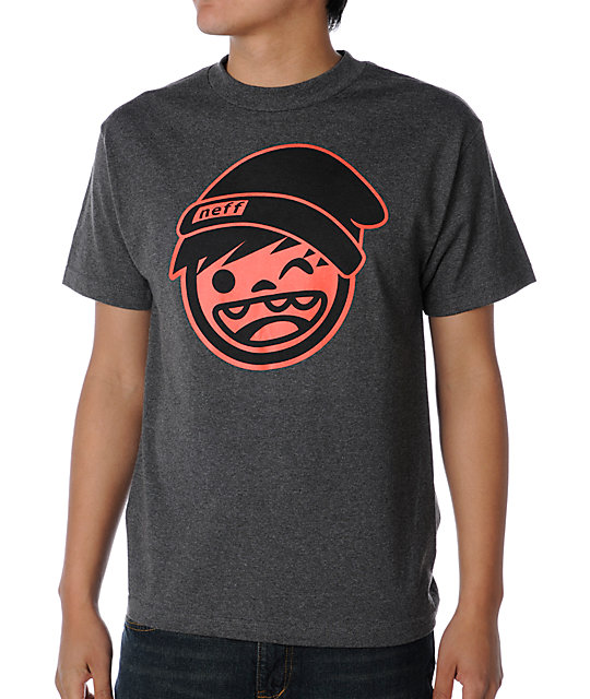 Neff Kenni Charcoal T-Shirt