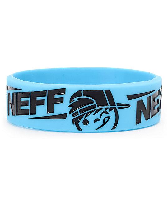 Neff Kenniz Cyan & Black Bracelet