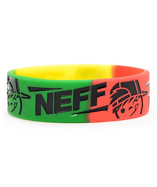 Neff Kenniz Rasta Bracelet