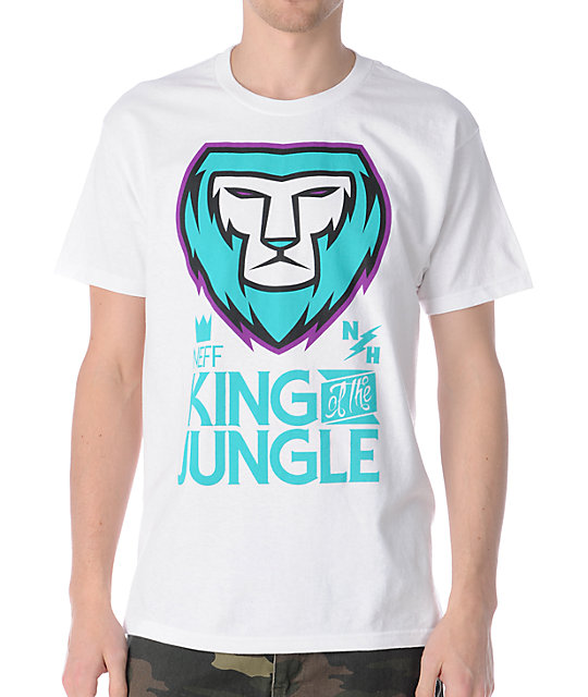 Neff King White T-Shirt