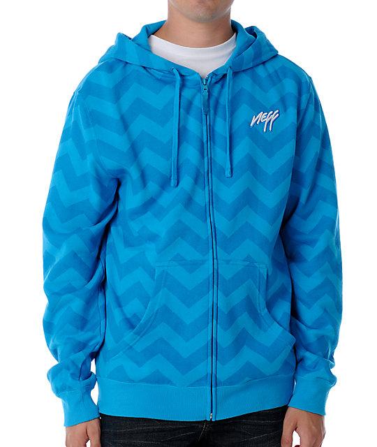 Neff Krook Blue Hoodie