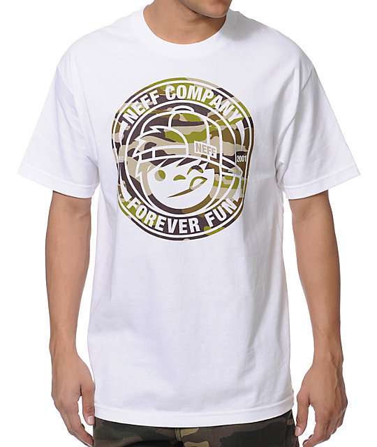 Neff Lockenni White T-Shirt