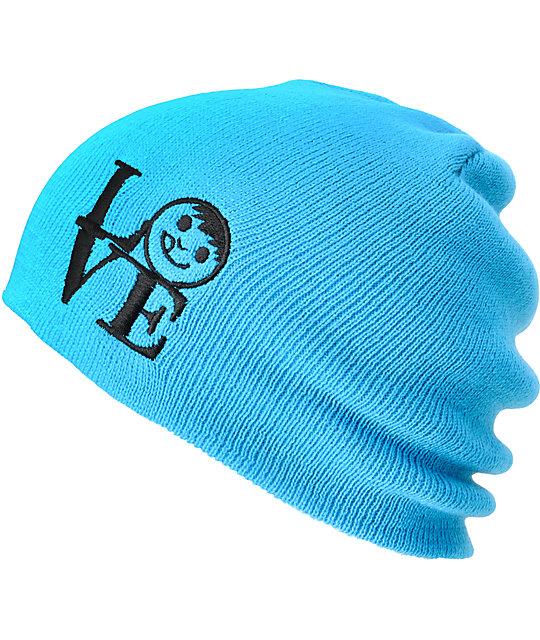 Neff Love Blue Slouchy Beanie