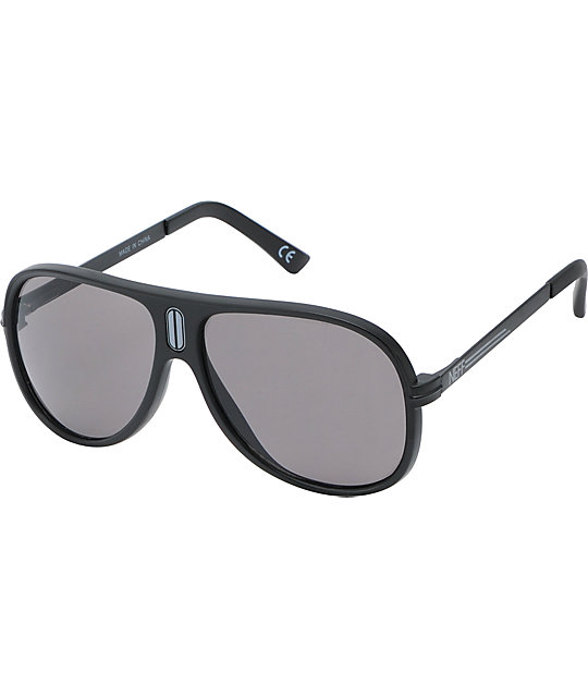 Neff Malibu Matte Black Polarized Sunglasses