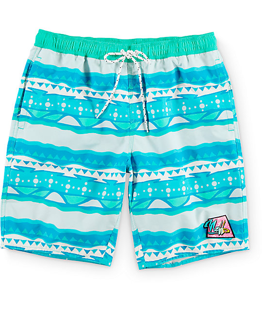 "Neff Morris Hot Tub 19""  Board Shorts"