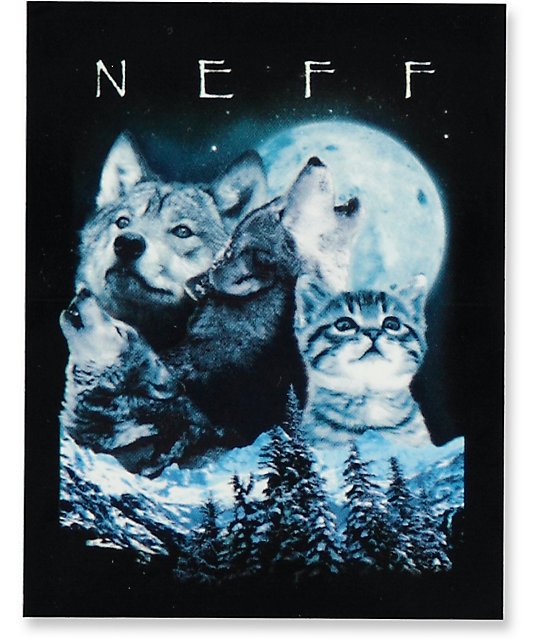 Neff Mountain Sticker